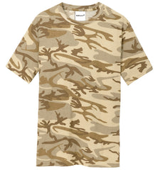 Mafoose Men's 5.4-oz 100% Cotton Tee Shirt Desert Camo-Front