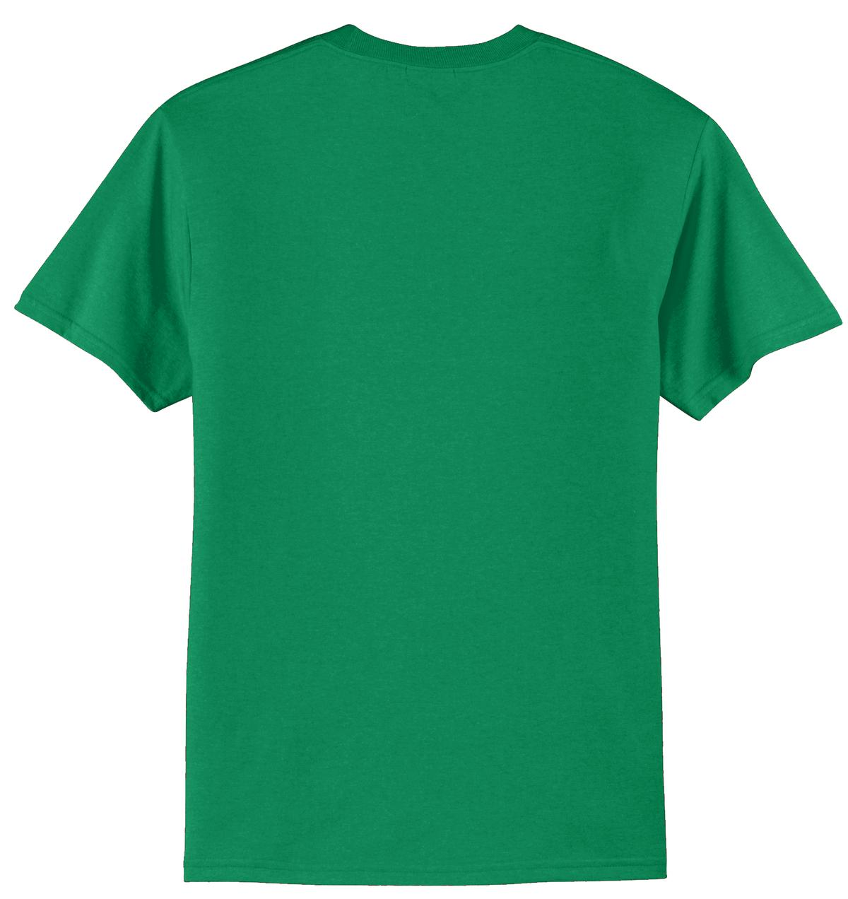 Mafoose Men's Core Blend Tee Shirt Kelly Green