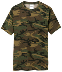 Mafoose Men's 5.4-oz 100% Cotton Tee Shirt Military Camo-Front