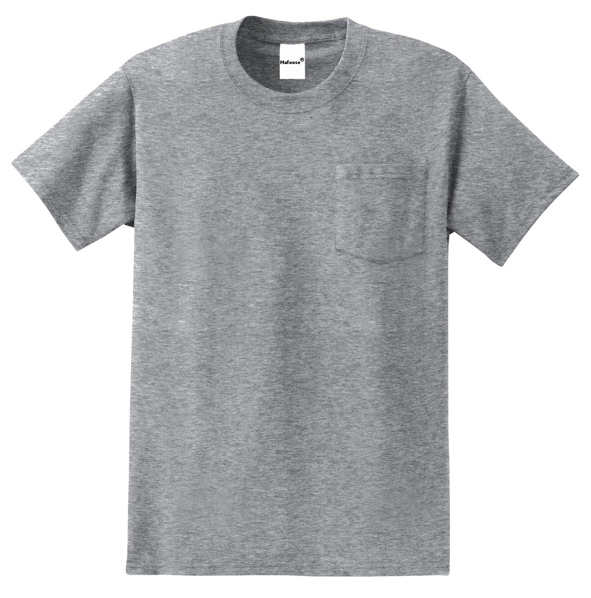 Men's Essential T Shirt with Pocket Athletic Heather