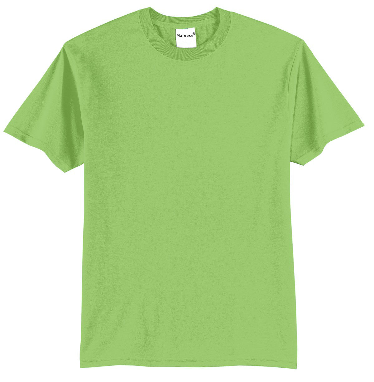 Mafoose Men's Core Blend Tee Shirt Lime