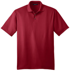 Mafoose Men's Performance Fine Jacquard Polo Rich Red-Front