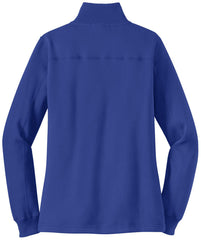 Mafoose Women's 1/4 Zip Sweatshirt True Royal-Back