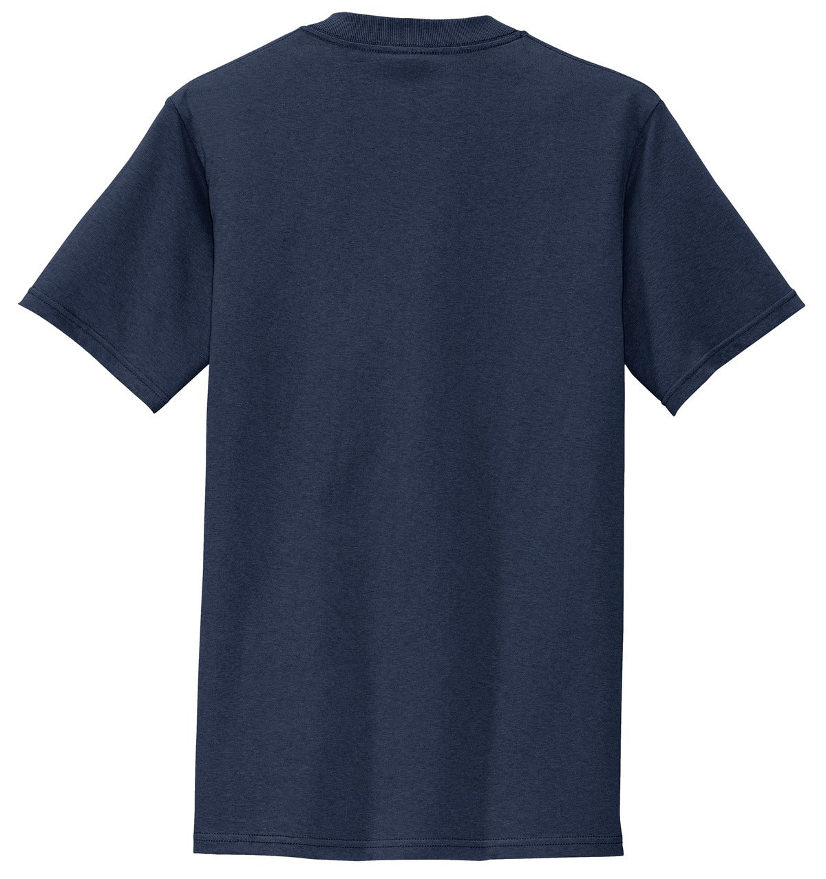 Mafoose Men's All American Tee Shirt with Pocket Navy-Back