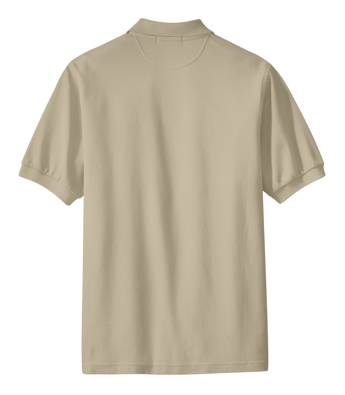 Mafoose Men's 100% Pima Cotton Polo Shirt Stone-Back