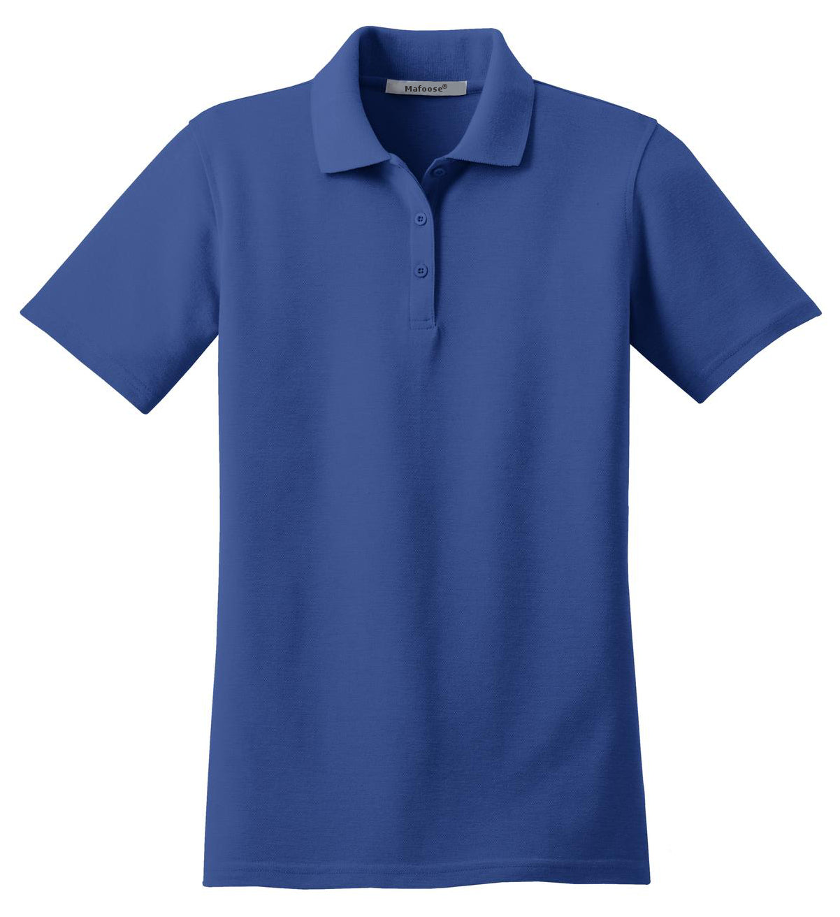 Mafoose Women's Stain Resistant Polo Shirt Royal-Front
