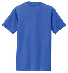 Mafoose Men's All American Tee Shirt with Pocket Royal-Back