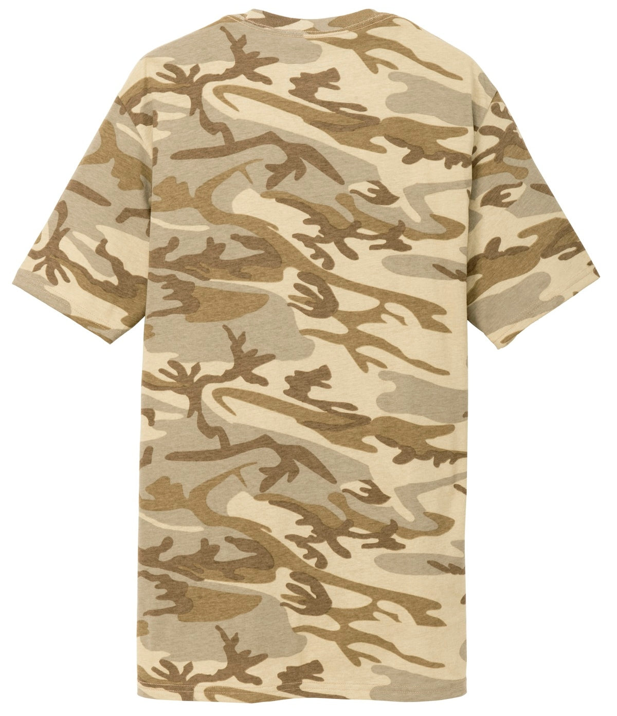 Mafoose Men's 5.4-oz 100% Cotton Tee Shirt Desert Camo-Back
