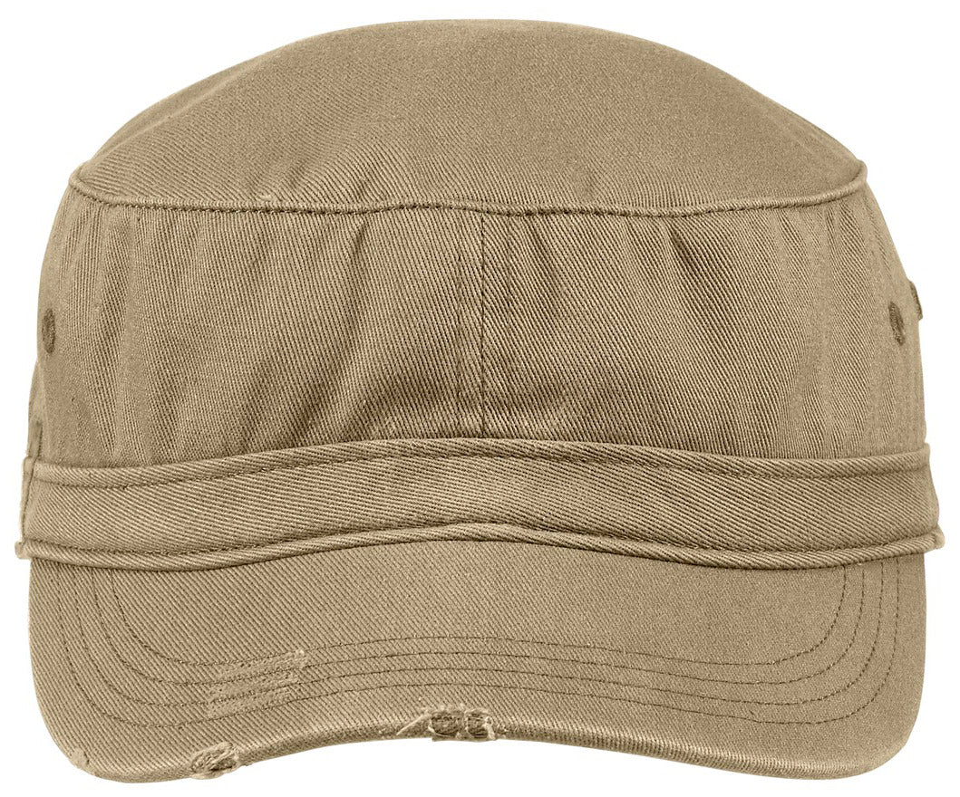 Men's Distressed Military Style Hat