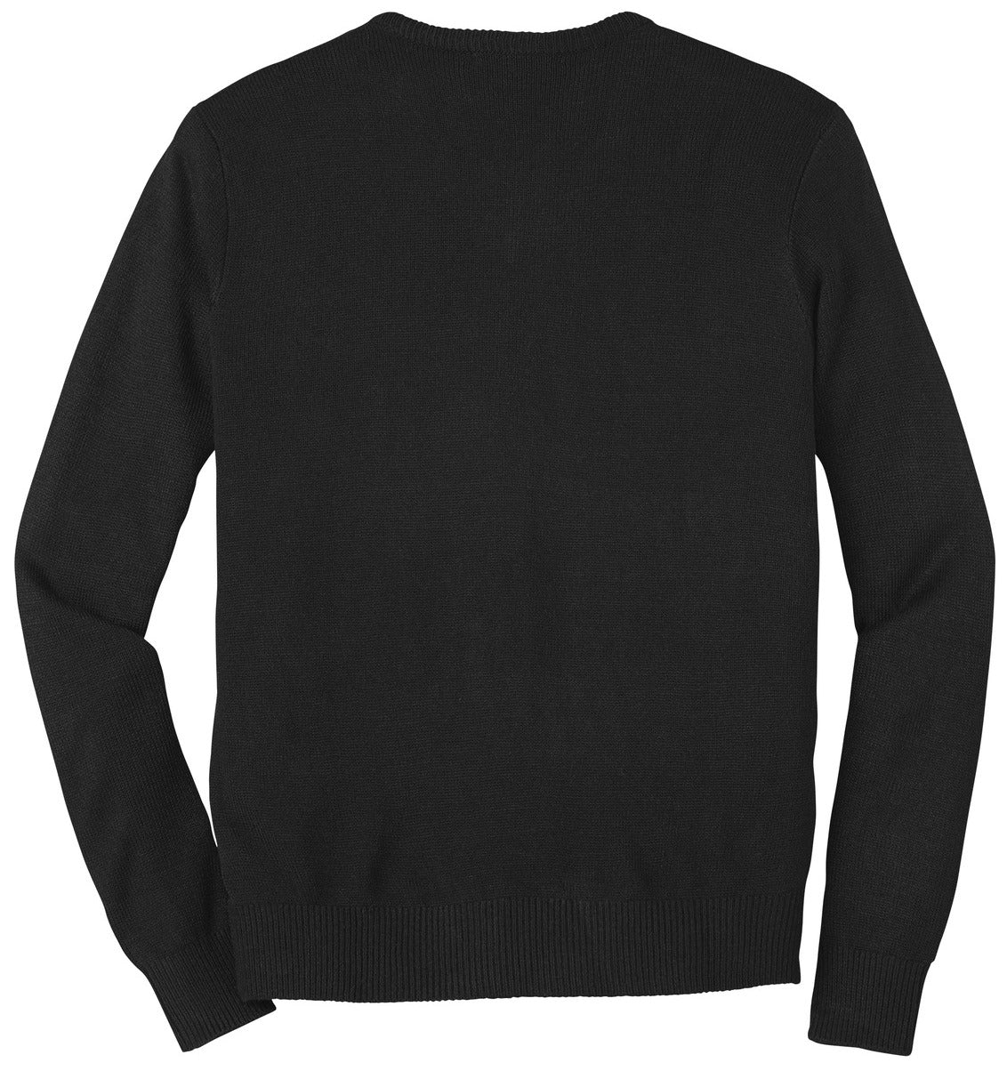 Mafoose Men's Value V-Neck Sweater Black-Back