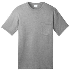 Mafoose Men's All American Tee Shirt with Pocket Athletic Heather-Front