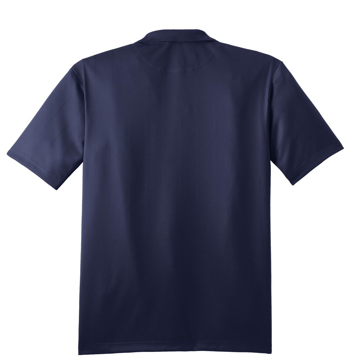 Mafoose Men's Performance Fine Jacquard Polo True Navy-Back