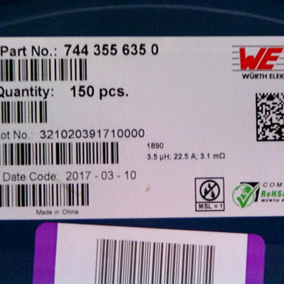 7443556350 Wurth Electronics Inc