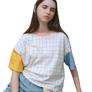 Patchwork  T shirt