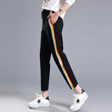 Rainbow Striped Joggers