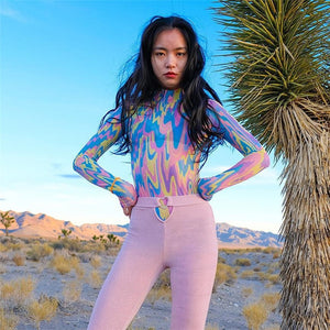 Trippy Rainbow Jumpsuit