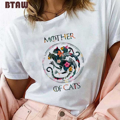 MOTHER OF CATS T SHIRT