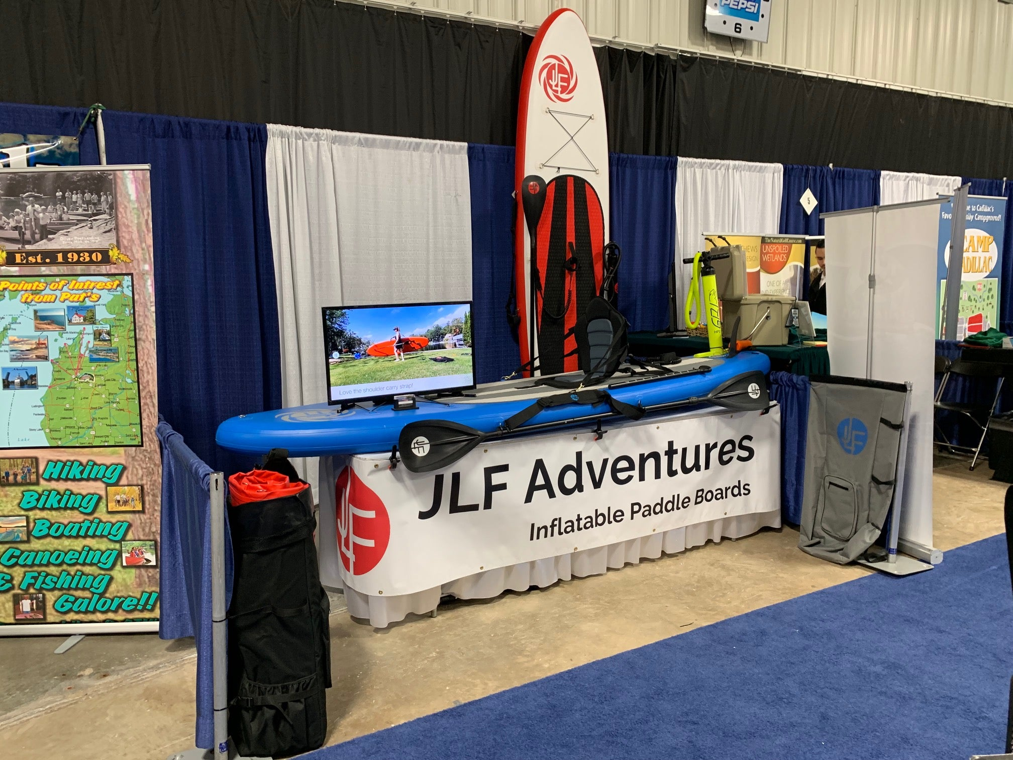March 2019 - JLF Adventures at the 27th Annual Northwest Michigan MARVAC RV & Camping Show