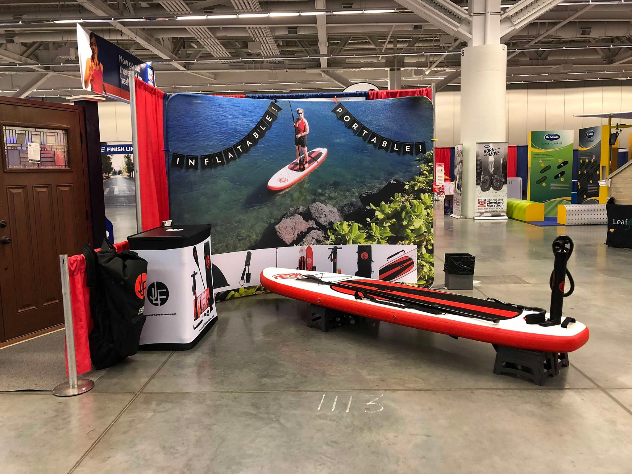 May 2018 - JLF Adventures at the Cleveland Marathon Health & Fitness Expo
