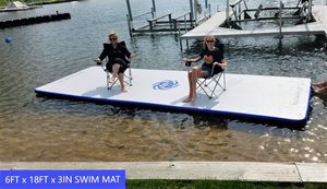 JLF 15 Ft Inflatable SWIM MAT