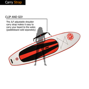 JLF Shoulder Carry Strap For Inflatable Stand Up Paddle Boards (SUP)