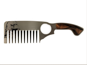 Premium Thick Beard Comb No.3 – Eagle - Bisson Combs