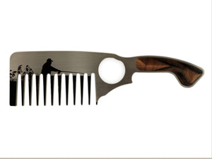 Premium Thick Beard Comb No.3 – Fisherman - Bisson Combs