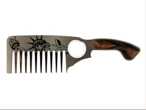 Premium Thick Beard Comb No.3 – Liberty - Bisson Combs