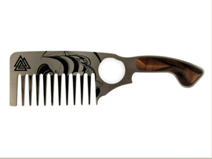 Premium Thick Beard Comb No.3 – Viking - Bisson Combs