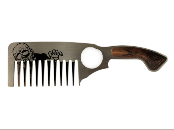 Premium Thick Beard Comb No.3 – Zombie - Bisson Combs
