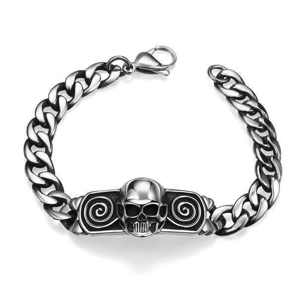 Mini Skull Stainless Steel Bracelet