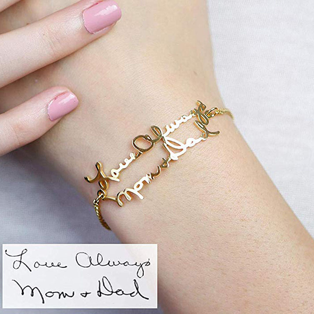 (Personalized) Handwriting Bracelet