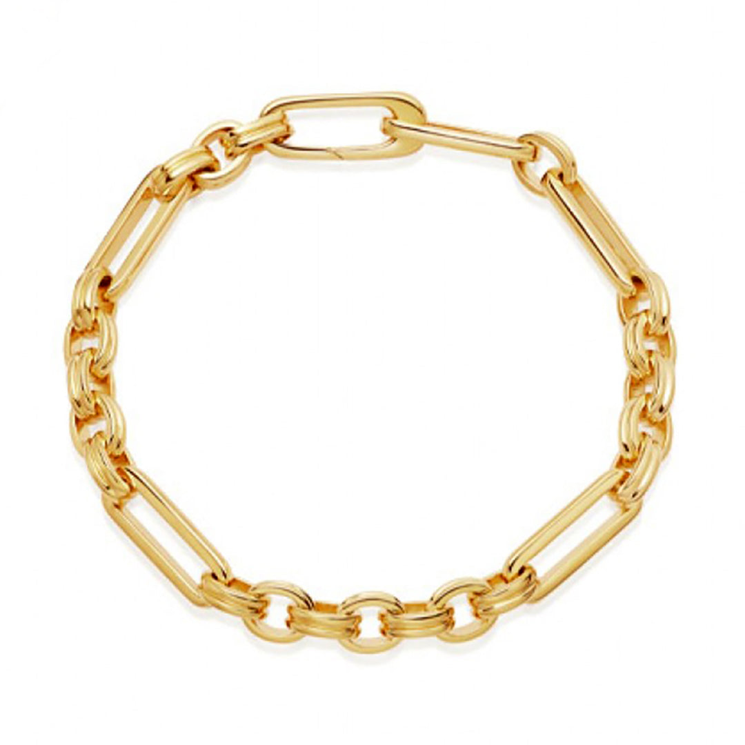 18K Gold Dipped Choker Necklace / Bracelet