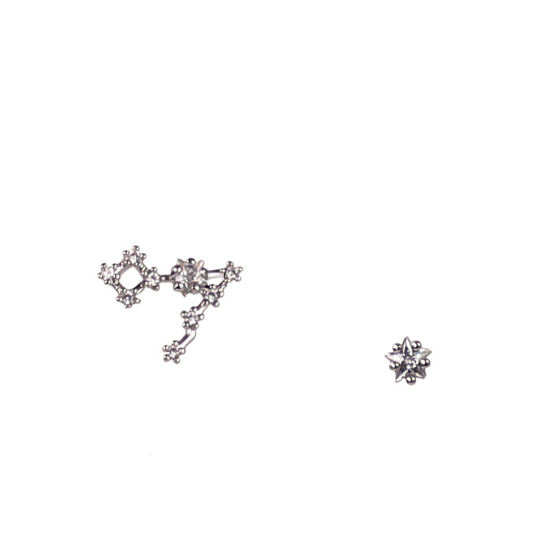 PICSES CZ Star Earrings