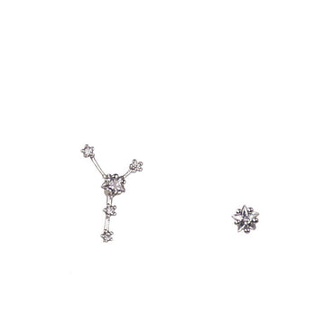 CANCER CZ Star Earrings