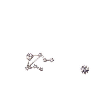 LEBRA CZ Star Earrings