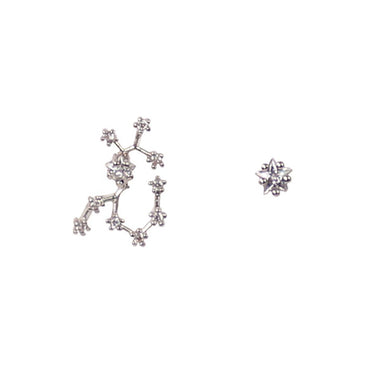 SAGITTARIUS CZ Star Earrings