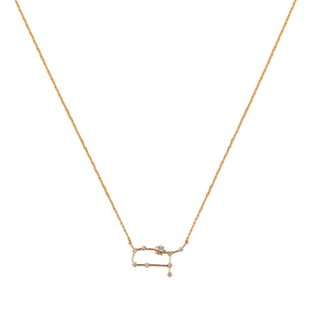 GEMINI CZ Star Necklace