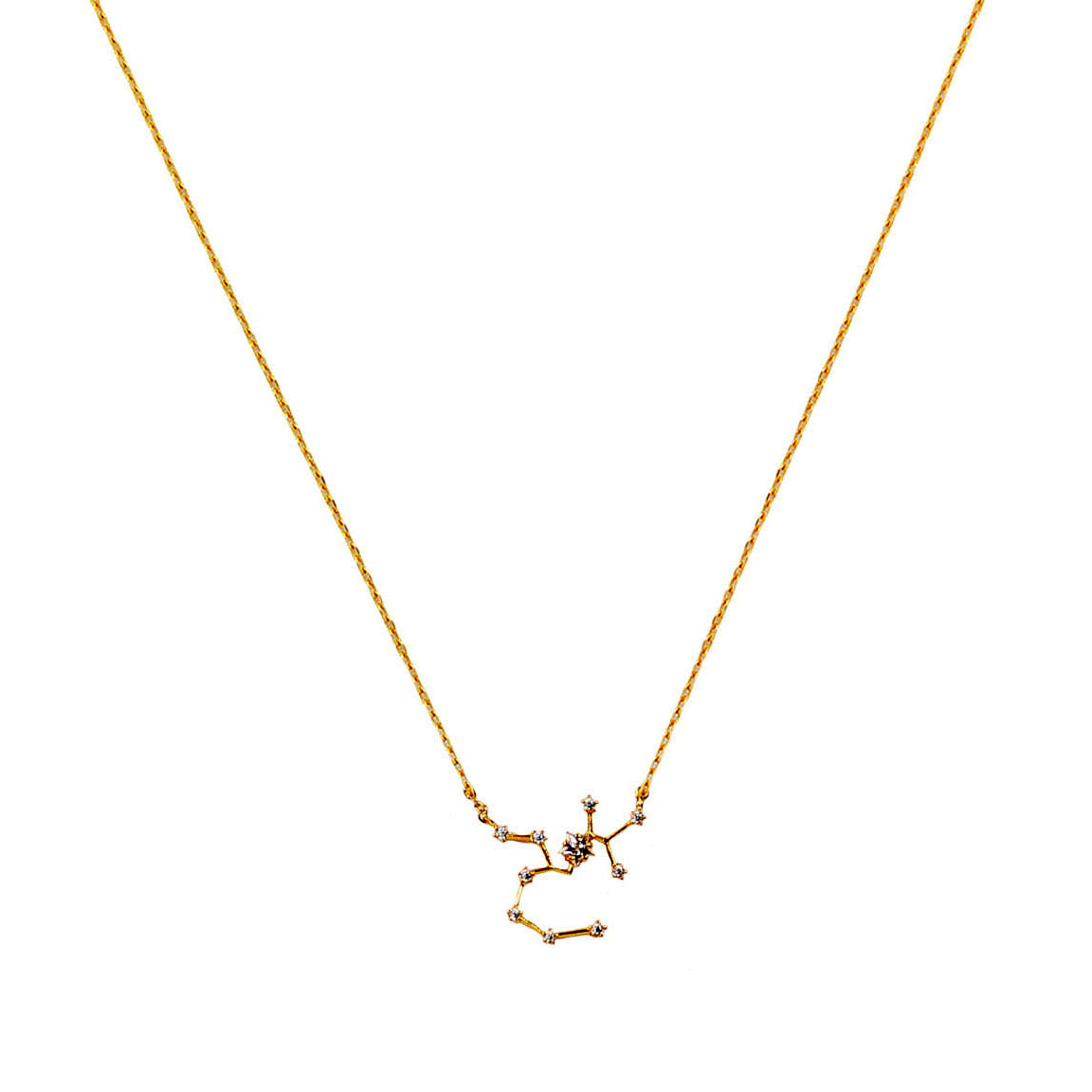 SAGITTARIUS CZ Star Necklace