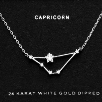 CAPRICORN CZ Star Necklace