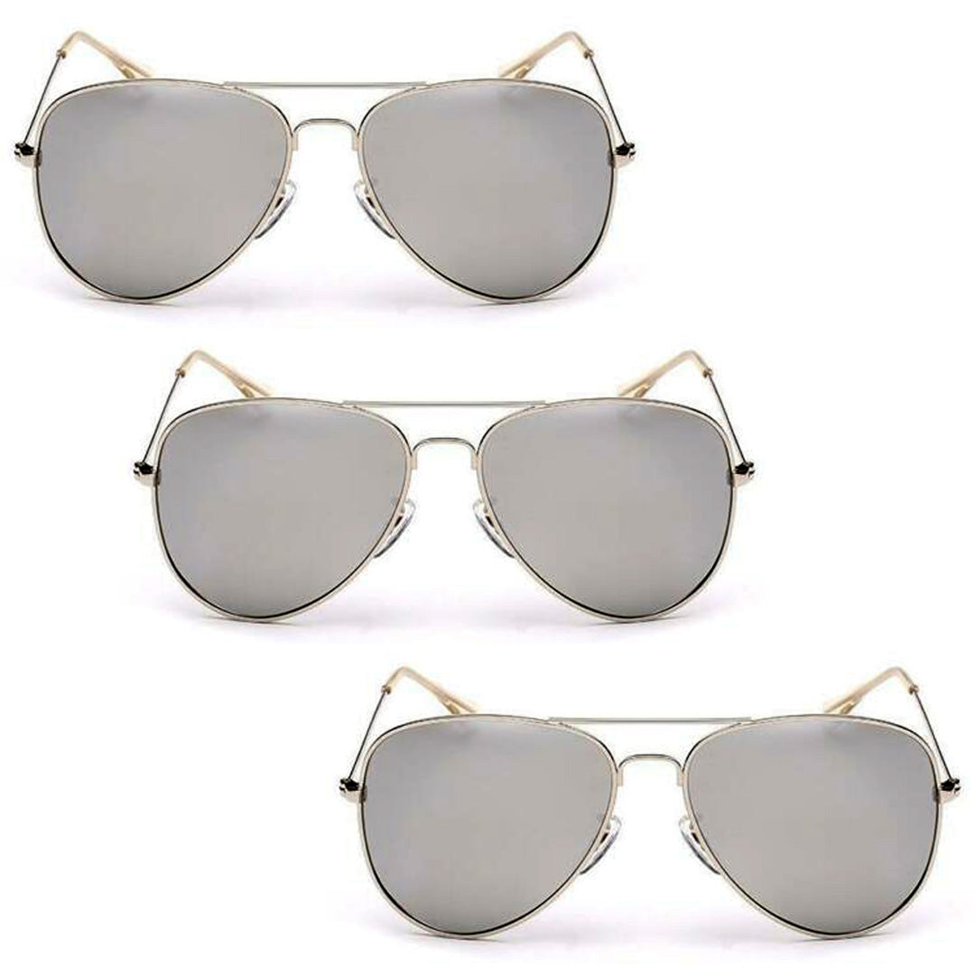 Oversized - 62mm Luxury Vintage Polarized Sunglasses Aviator Sun Glasses For Women Uni Sex Mirror