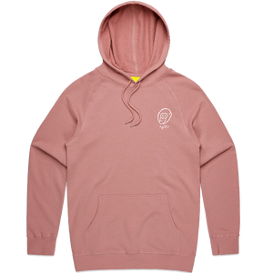 Rose Embroidered Logo Hoodie - Ky&Co Australia