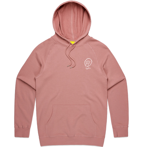 Rose Embroidered Logo Hoodie - PRE-ORDER - Ky&Co Australia