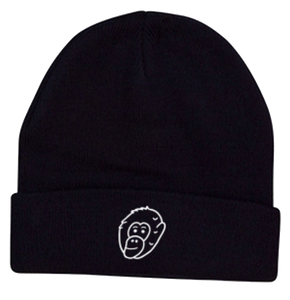 Navy Embroidered Gerry Beanie - Ky&Co Australia