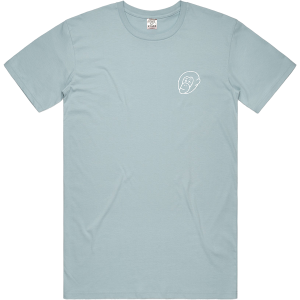 Lost in Lust Pale Blue Tee - Ky&Co Australia