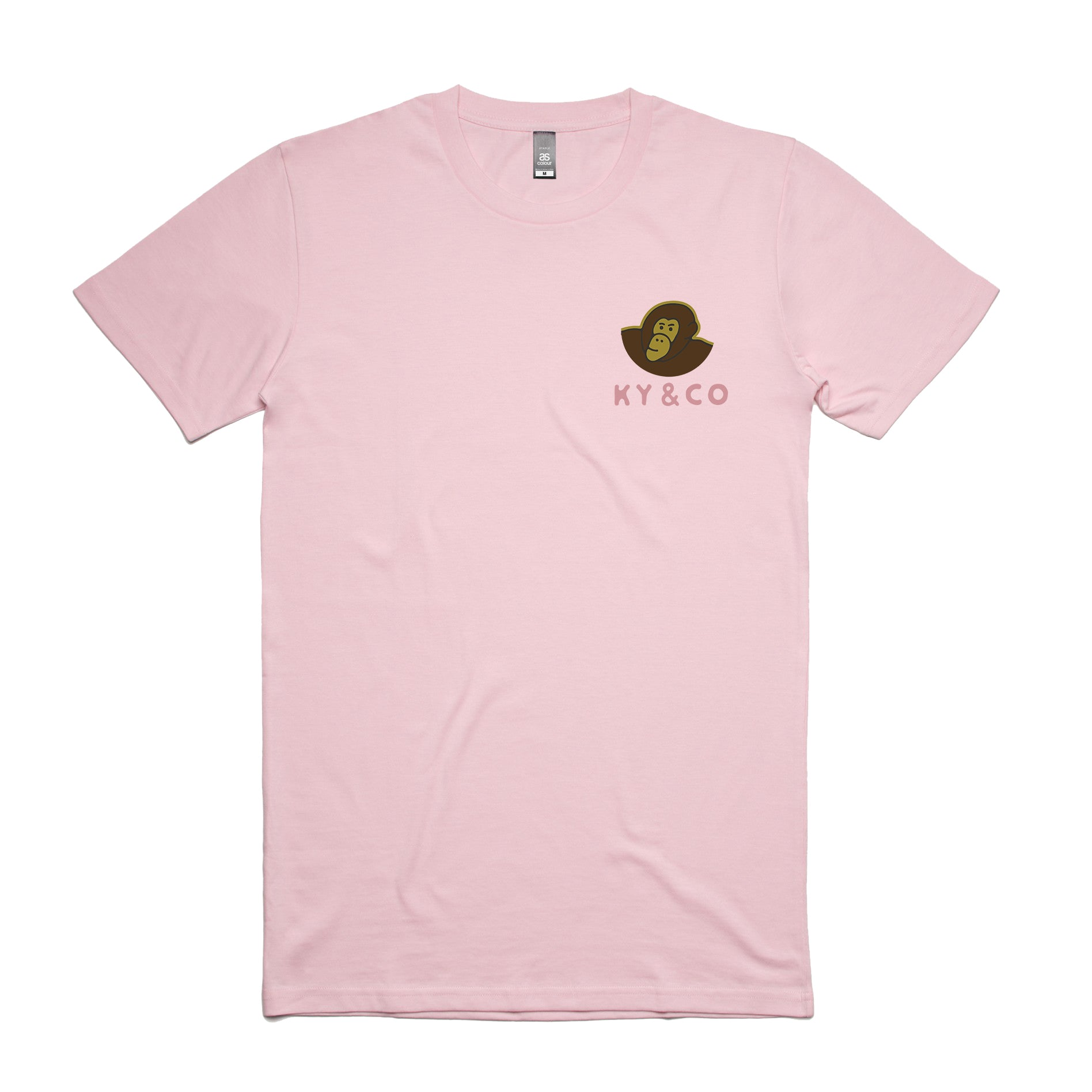 Ky & Co Classic Tee - Blossom Pink