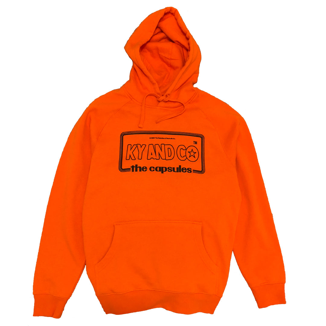 Taking Care of (monkey business) X The Capsules Orange Hoodie