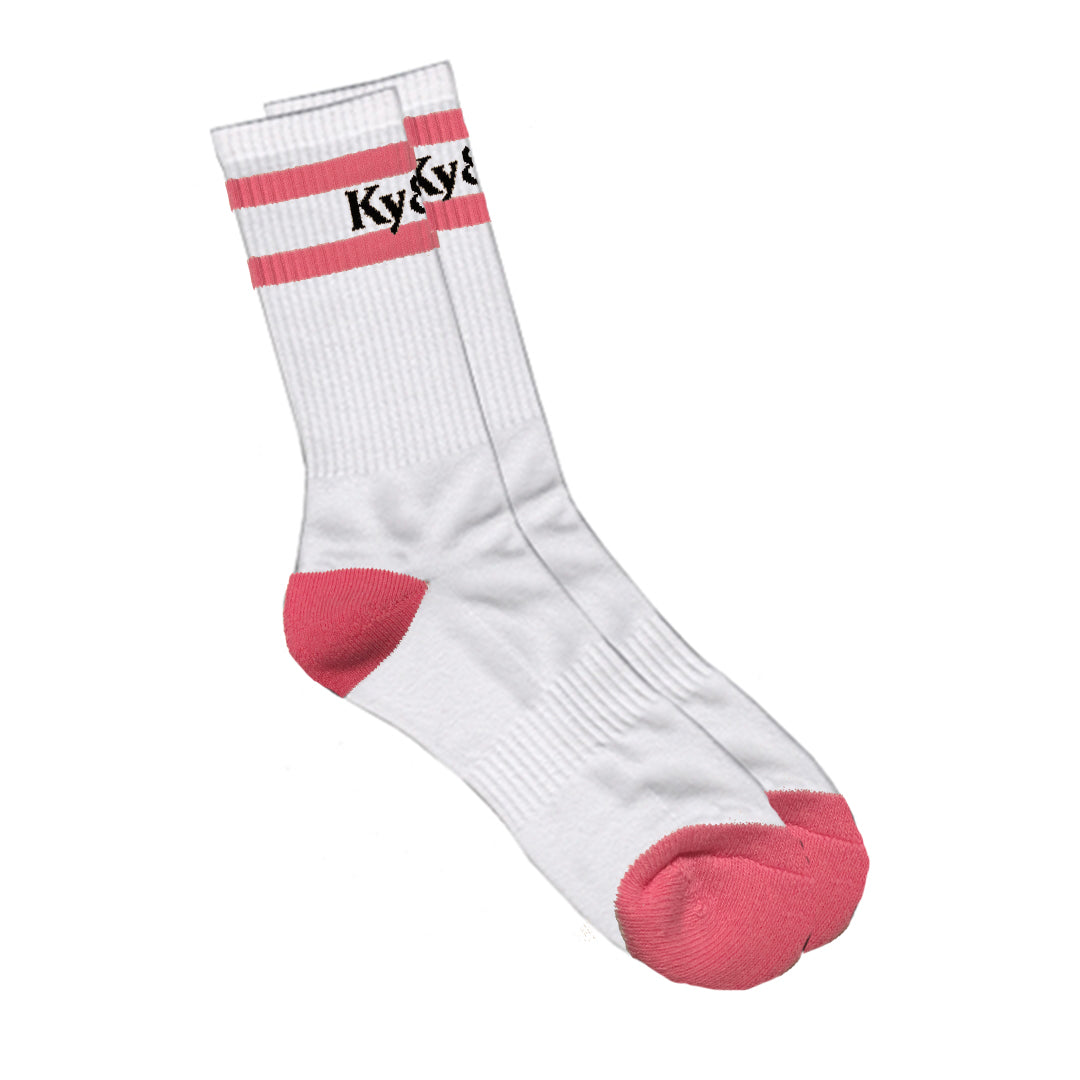 For Your Feet Only Socks- Pink
