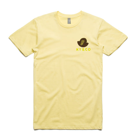 Ky & Co Classic Tee - Banana Yellow