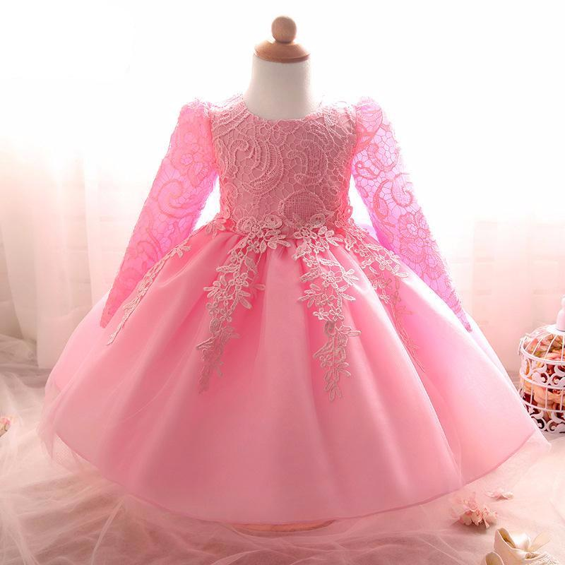 Birthday Party Wedding Princess Dress For Baby Girls – babycl